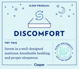 Discomfort Sleep for Success Finances Demystified Blog