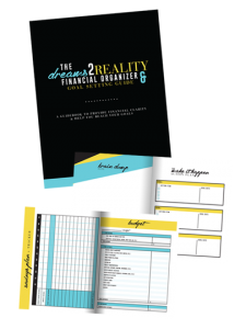 Dreams2Reality Financial Organizer and Goal Setting Guidebook