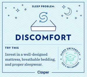 Discomfort Sleep for Success Finances Demystified Blog